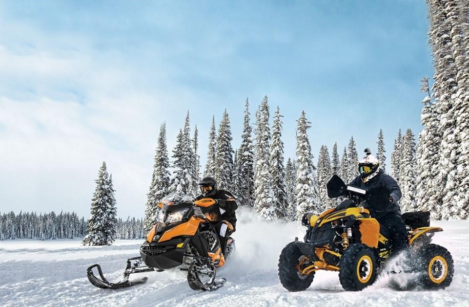 Картинки квадроцикл снегоход